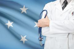 Concept of national healthcare system - federated states of micronesia Stock Photos
