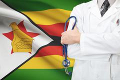 Concept of national healthcare system - zimbabwe Stock Photos