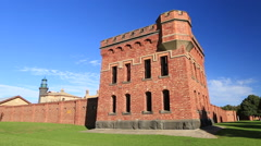 Historical Fort Queenscliff Victoria Australia Stock Footage