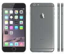 Space gray iphone 6 - stock illustration