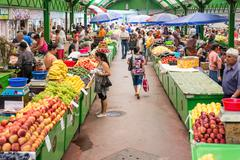 People Shopping For Healthy Food - stock photo