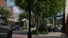 Vicksburg Mississippi Downtown charm - stock footage