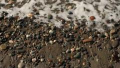 Dungeness Spit Shore Stock Footage