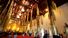 Temples in ChiangMai,Thailand.15 Stock Footage