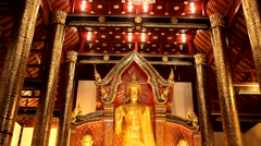 Temples in ChiangMai,Thailand.11 Stock Footage