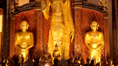 Temples in ChiangMai,Thailand.7 Stock Footage