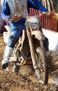 motocross - stock photo