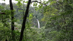 La Fortuna Waterfall Stock Footage