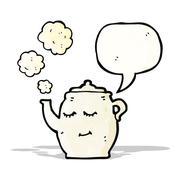 Stock Illustration of cartoon teapot