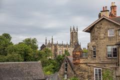 The Holy Trinity Church in Edinburgh - stock photo