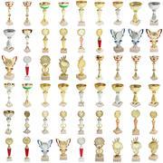 Set sports awards isolated on a white background Kuvituskuvat