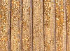 Peeling paint on a wooden wall background Stock Photos