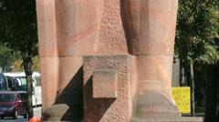 4K UHD Minister President Bismarck Status Munich Deutsches Museum German Museum Stock Footage