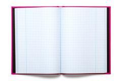 exercise book - stock photo