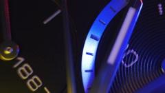 Clock Face VIdeo. Quartz - stock footage