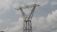 electrical power supply - stock footage
