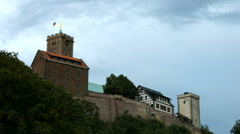 Wartburg, west side view. Stock Footage