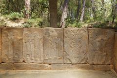 Turkey, Anatolia, Mediterranean region, Cukurova, Osmaniye Province, reliefs on Stock Photos