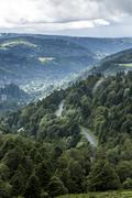 France, Auvergne, Nature Reserve Vallee de Chaudefour Stock Photos