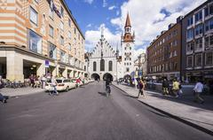 Stock Photo of Germany, Bavaria, Munich, Altstadt-Lehel, Toy Museum in the old Townhall tower