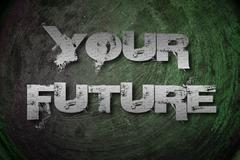 your future concept - stock illustration