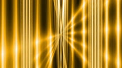 Abstract loop motion background, gold light and line Stock Footage