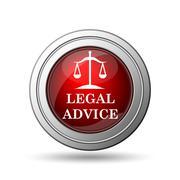 Stock Illustration of legal advice icon