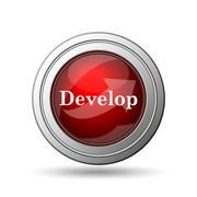 Develop icon Stock Illustration