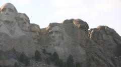 Panoramic Shot of Mount Rushmore Stock Footage