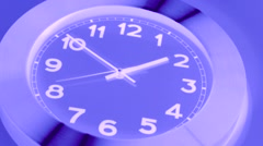 X Ray Wall Clock , Timelapse - stock footage