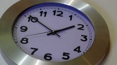 Clock on a Wall , Timelapse Stock Footage