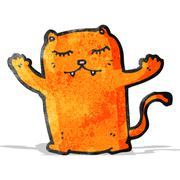Stock Illustration of cartoon ginger cat