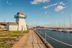Summerside waterfront Stock Photos