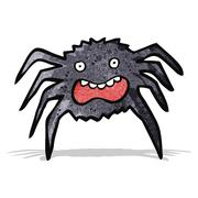 Stock Illustration of cartoon spider