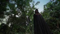 Dark Figure | Female | Cosplay / LARP / Horror Stock Footage