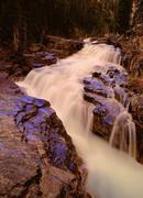 Stock Photo of Bridal Veil Falls, Banff National Park, Alberta, Canada