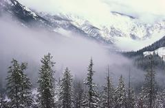 Christina Range, British Columbia, Canada - stock photo