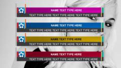 Lower Third Stock After Effects