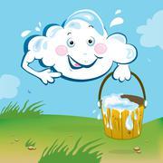 Cloud Stock Illustration