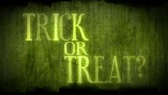Halloween - Trick Or Treat Stock Footage