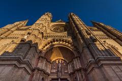 catedral de la almudena - stock photo