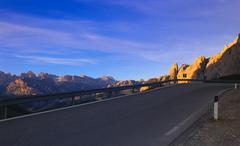 Stock Photo of Sella Pass, Dolomites, Italy