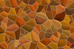 Stock Illustration of amber mosaic background