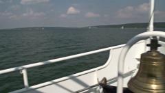 Bavarian boat Stock Footage
