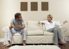 Couple Argument Stock Photos