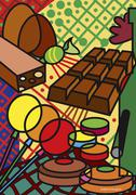 Illustration of Candy Stock Illustration