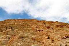 Egyptian Desert Mountain Stock Photos