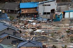 Japan Tsunami Disaster - stock photo