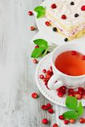 sweet tea party - stock photo