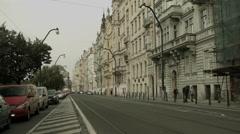 The European city of Prague Stock Footage